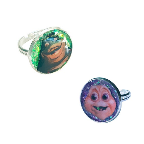DINOSAURS ( 90s series tv )glitter ring