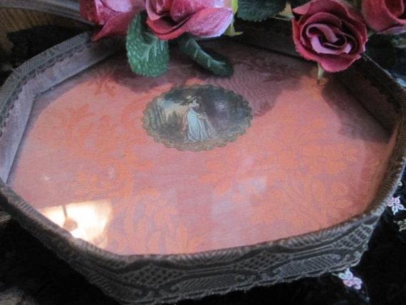 Antique// Victorian Boudoir Tray// Fabulous Piece!