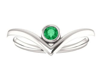 Ruby, Emerald Rings