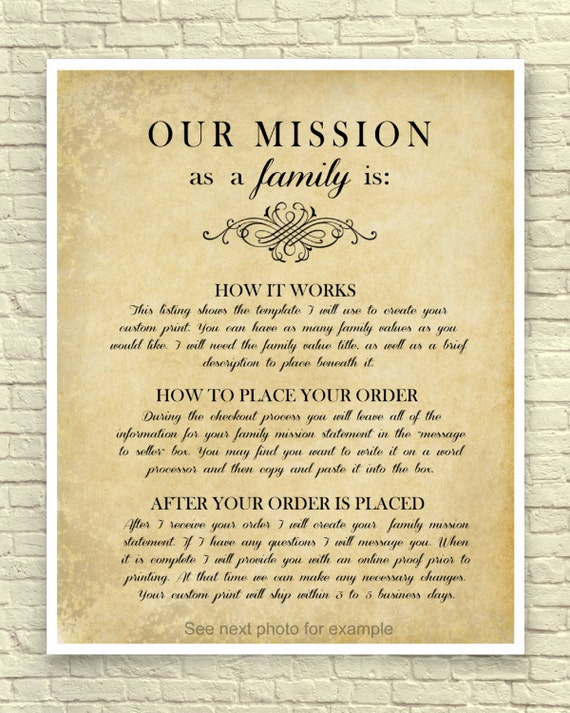21 best family images | family mission statements, family values.
