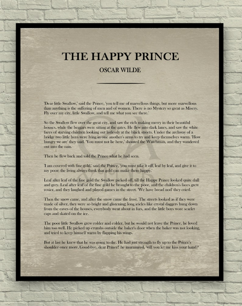 Happy Prince Book