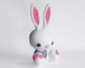 Baby Bunny crochet PATTERN for amigurumi - EN -