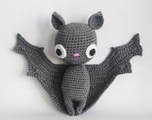 Crochet PATTERN for Batilda the bat amigurumi - EN -