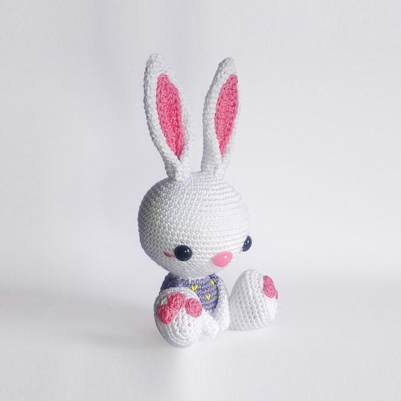 Baby Bunny crochet PATTERN for amigurumi  EN   image 0