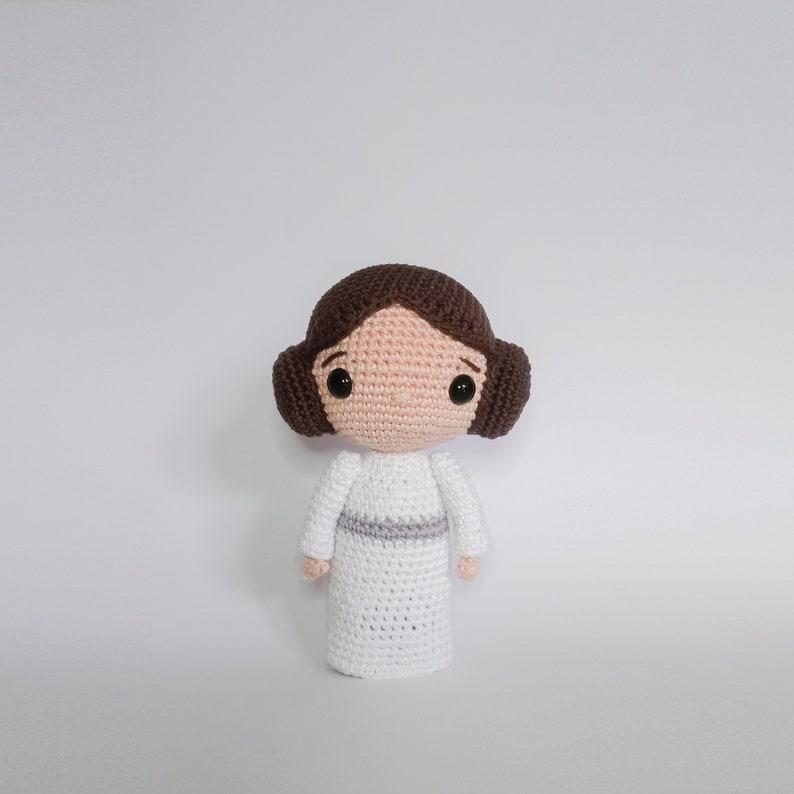 Crochet PATTERN for Princess Leia amigurumi  doll  EN   image 0