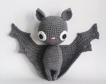 Crochet PATTERN for Batilda the bat amigurumi - EN -
