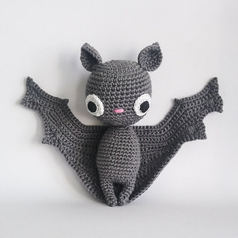 Crochet PATTERN for Batilda the bat amigurumi  EN  image 0