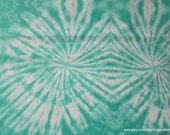 Flannel Fabric - Bermuda Circles TieDye - By the Yard - 100% Cotton Flannel
