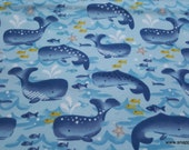 Flannel Fabric - George Whale - By the yard - 100% Cotton Flannel