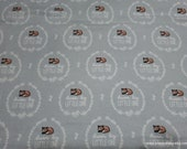 Flannel Fabric - Aspen Dream Big Circles - By the yard - 100% Cotton Flannel