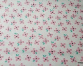Flannel Fabric - So Loved Mini Floral - By the yard - 100% Cotton Flannel