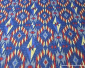 Flannel Fabric - Southwest Americana - By the yard - 100% Cotton Flannel