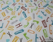 Flannel Fabric - Zoo Time Alphabet - By the yard - 100% Cotton Flannel