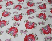 Flannel Fabric - Barn and Farm Animals - By the yard - 100% Cotton Flannel