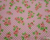 Premium Flannel Fabric - Pink Oxfordshire Premium - By the yard - 100% Cotton Flannel