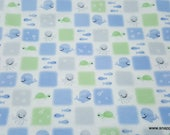 Flannel Fabric - Kai Patch - By the yard - 100% Cotton Flannel
