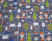 Flannel Fabric - Camping Supplies - By the yard - 100% Cotton Flannel