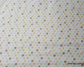 Flannel Fabric - Safari Small Dot - By the yard - 100% Cotton Flannel