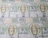 Flannel Fabric - Adventure Patch Neutral - By the yard - 100% Cotton Flannel