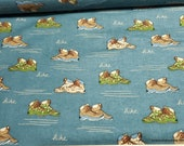 Flannel Fabric - Hiking - By the yard - 100% Cotton Flannel