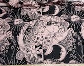 Flannel Fabric - Make Your Own Magic Celestial - By the yard - 100% Cotton Flannel