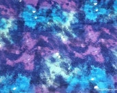 Flannel Fabric - Galaxy Lights - By the yard - 100% Cotton Flannel