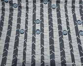 Flannel Fabric - Forest Owls in Birch Trees - By the yard - 100% Cotton Flannel