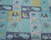 Flannel Fabric - Adventure New Patch Neutral - By the yard - 100% Cotton Flannel