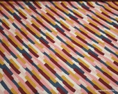 Flannel Fabric - Girl Paint Strokes - By the yard - 100% Cotton Flannel