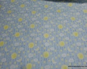 Flannel Fabric - Celestial Sky - By the yard - 100% Cotton Flannel