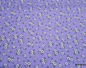 Flannel Fabric - Gypsy Ditsy Floral - By the Yard - 100% Cotton Flannel