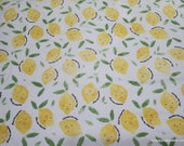 Flannel Fabric - Squeeze the Day - By the yard - 100% Cotton Flannel