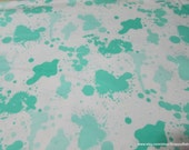 Flannel Fabric - Bermuda Splatter - By the Yard - 100% Cotton Flannel