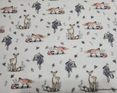 Flannel Fabric - Aspen Mom and Baby - By the yard - 100% Cotton Flannel