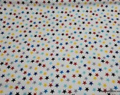 Flannel Fabric - Things That Go Stars - By the yard - 100% Cotton Flannel