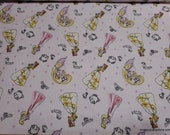 Character Flannel Fabric - Disney Princess Dream State - By the yard - 100% Cotton Flannel