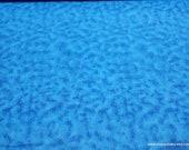 Flannel Fabric - Powder Blue Tie Dye - By the yard - 100% Cotton Flannel