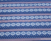 Flannel Fabric - Tribal Aztec - By the yard - 100% Cotton Flannel