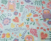 Flannel Fabric - Farrow Forest - By the yard - 100% Cotton Flannel
