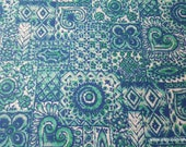 Flannel Fabric - JF Guerra Rio - By the yard - 100% Cotton Flannel