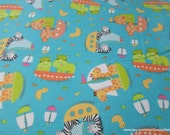 Flannel Fabric - Ark Regatta - By the yard - 100% Cotton Flannel