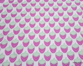 Flannel Fabric - Yummy Berry - By the Yard - 100% Cotton Flannel
