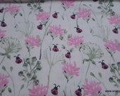 Flannel Fabric - Hazel Stem Floral - By the yard - 100% Cotton Flannel