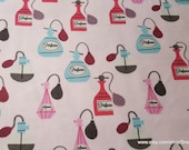 Flannel Fabric - Perfume - By the yard - 100% Cotton Flannel