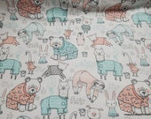 Flannel Fabric - Flannel PJ Party - By the yard - 100% Premium Cotton Flannel