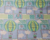 Flannel Fabric - Adventure Patch Boy - By the yard - 100% Cotton Flannel
