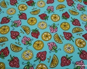 Premium Flannel Fabric - Lil Sprout Too Fruit Premium - By the yard - 100% Cotton Flannel