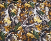 Flannel Fabric - RealTree Allover - By the yard - 100% Cotton Flannel