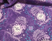 Character Flannel Fabric - Harry Potter Compass Rose Marauders Map - By the yard - 100% Cotton Flannel