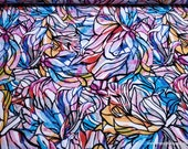 Flannel Fabric - Colorful Stained Glass - By the yard - 100% Cotton Flannel